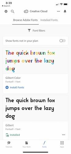 Install New Fonts Ios13 Font Tab
