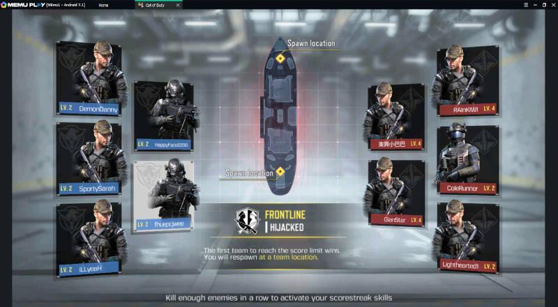 Memuplay Call Of Duty Starting Game