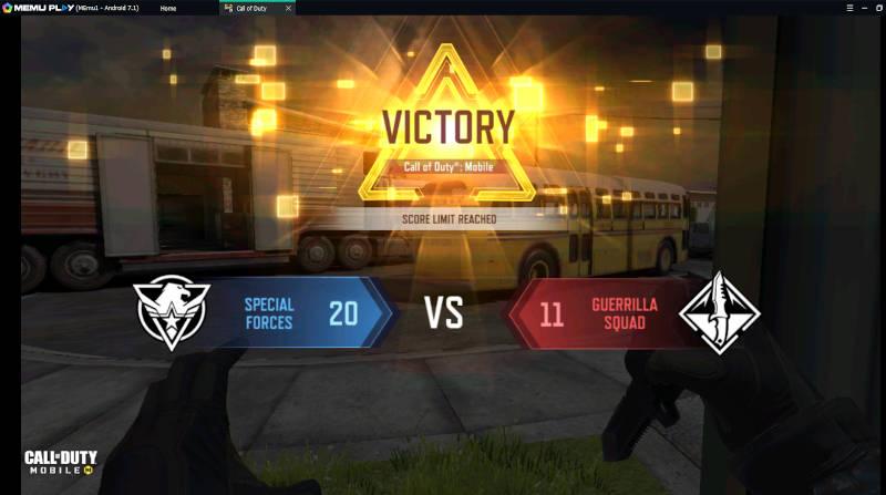 Memuplay Call Of Duty Victory