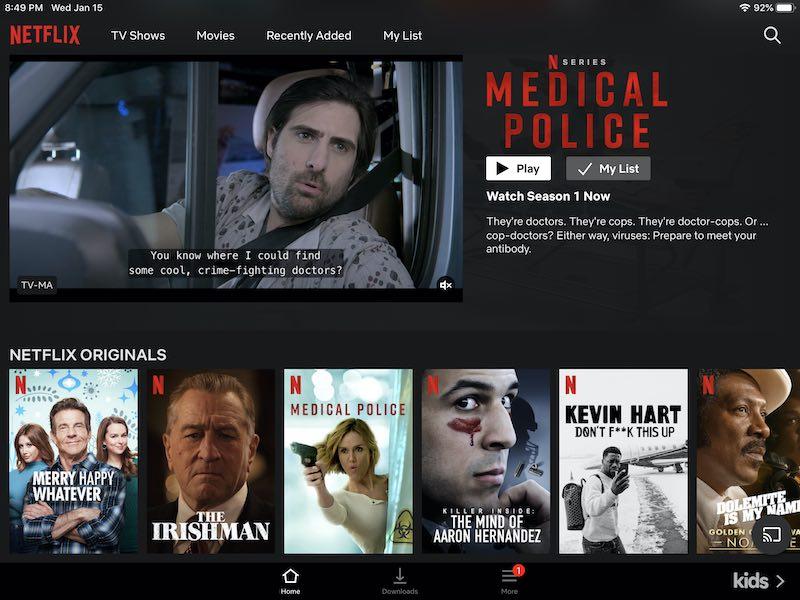 Netflix Versus Disney Plus Netflix Layout
