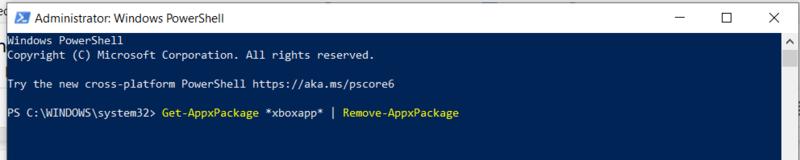 قم بإزالة Bloatware Windows Remove App Package