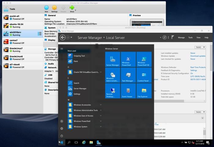 Virtualbox Vs Vmware Virtualbox X