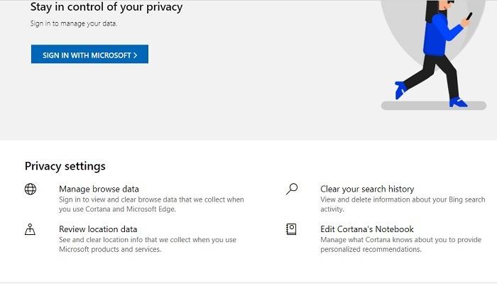 Bing أفضل من بحث خصوصية Google