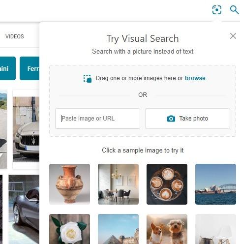 يعد Bing أفضل من بحث الصور العكسي من Google