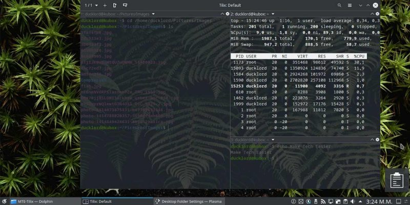 Upgraded Terminal With Tilix Featured