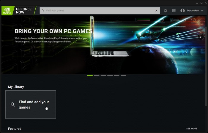 Geforce Now Game Streaming Find Your Games