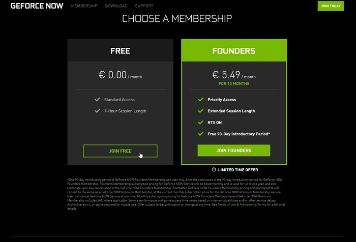 Geforce Now Game Streaming Join Free