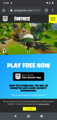 How To Install Fortnite On Android Epic Games App