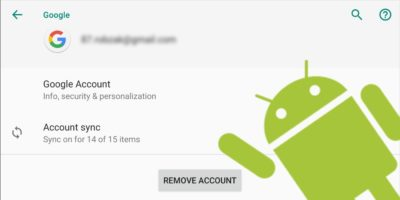 Log Out Of Google Account Android Header