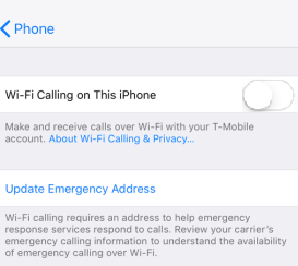 Mobile Cellular Data Not Working Iphone Ios Wifi Calling