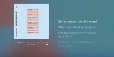 Apple Music Lyrics Cover