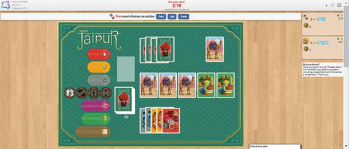ألعاب اللوح Boardgamearena