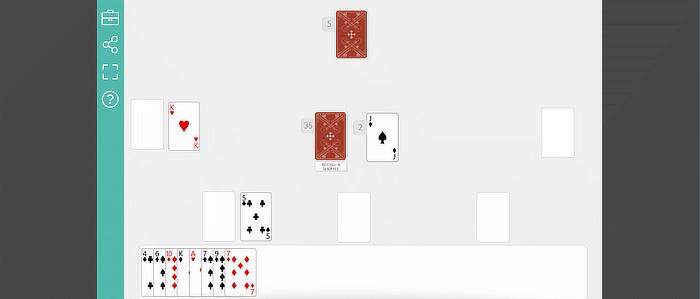 ألعاب الطاولة بطاقات اللعب