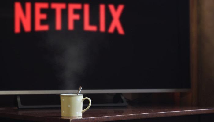 شاشة Netflix Dvd TV