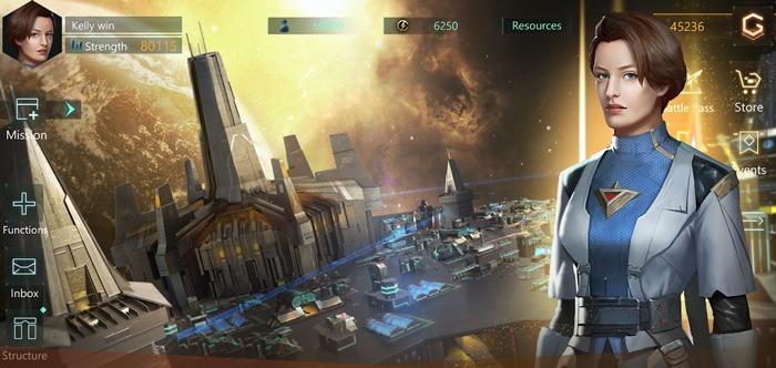 ألعاب Ios Android الجديدة Stellaris Galaxy Command