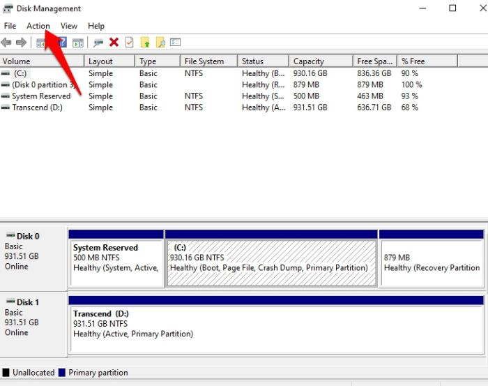Password Protect Files Folders Windows 10 Disk Management Action
