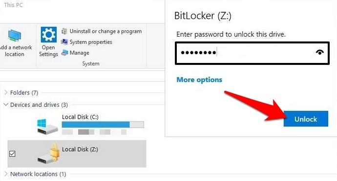 Password Protect Files Folders Windows 10 Folder Vault Vhd Mount Sign In Unlock