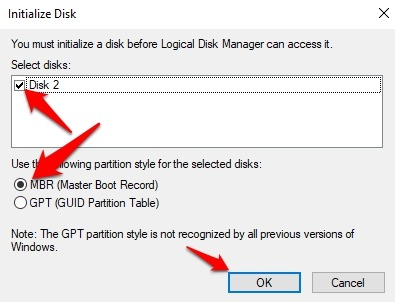 Password Protect Files Folders Windows 10 Initialize Disk Mbr