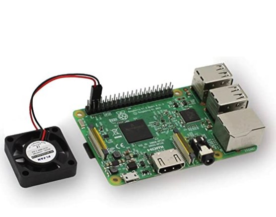 When the processor works harder, you'll need a way to cool your Raspberry Pi.
