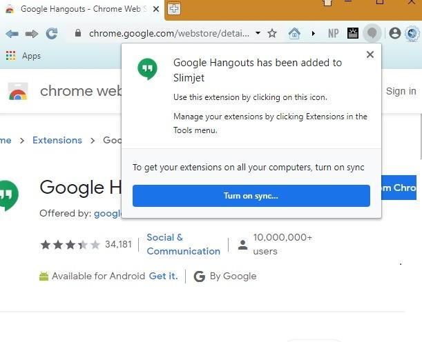 متصفحات خفيفة الوزن Slimjet Chrome Extensions