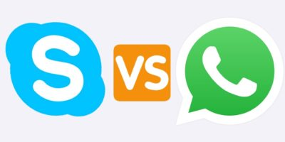 Skype Whatsapp Featured