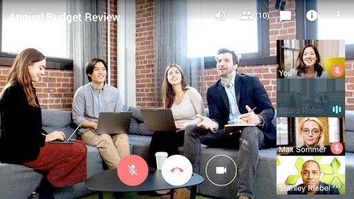 Google Meet Is Good Group Small Video Conference