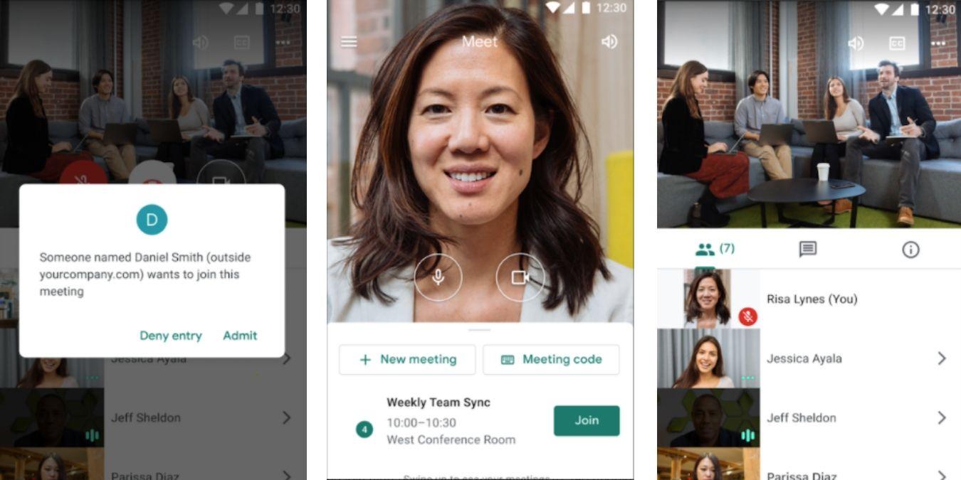 Google Meet is Good Mobile Shots