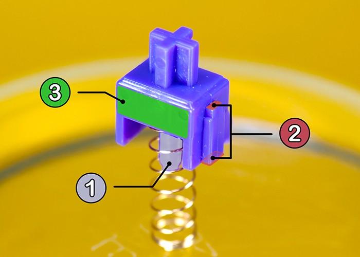 कीबोर्ड स्विच मोडिंग 10 बी