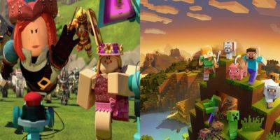 Minecraft Vs Roblox Hero