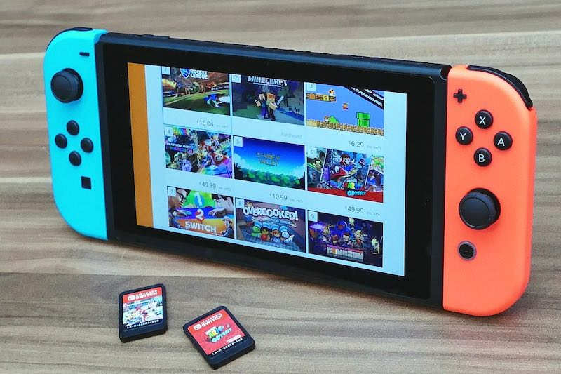 Nintendo Switch Catridges