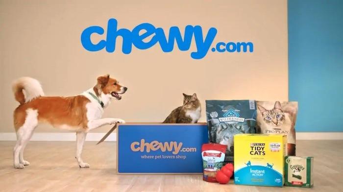 ऑनलाइन स्टोर तालाबंदी Chewy देने