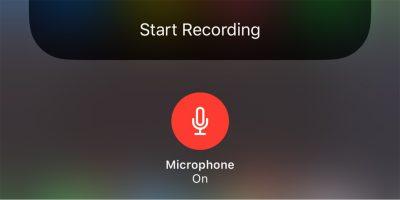 Screen Recording External Mic Ios Cover