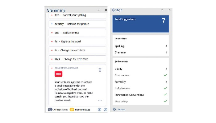 Grammarly for mac word