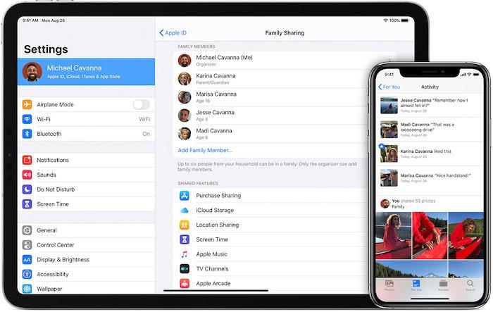 تعرّف على خطة Apple Icloud العائلية