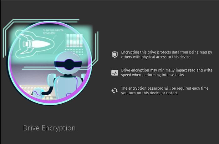 Popos Review Encryption Option