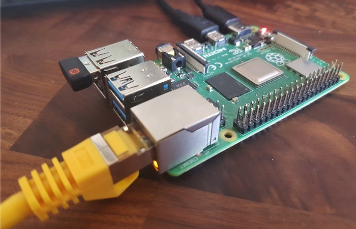 Your Raspberry Pi bridge can convert a Wi-Fi connection, into an ethernet connection.