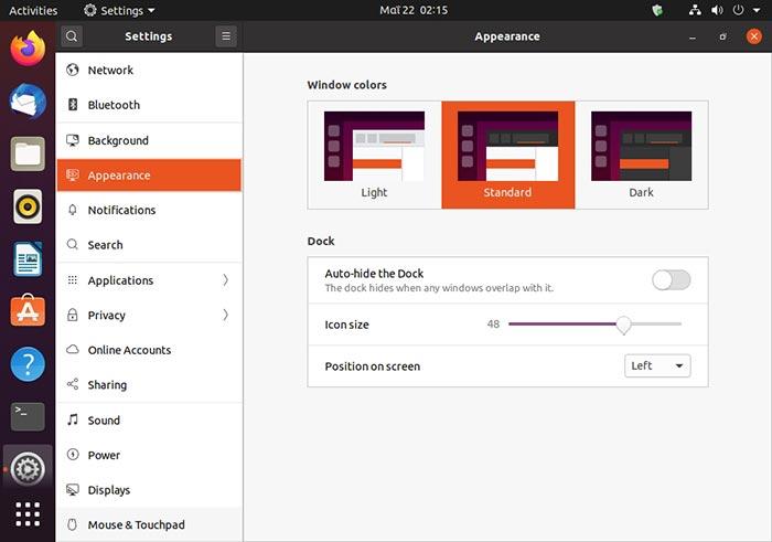 Ubuntu 2004 Review Desktop Theme