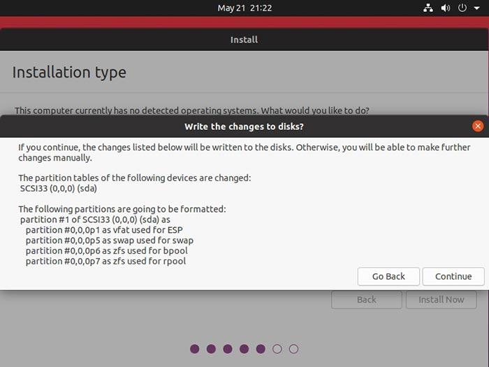 Ubuntu 2004 Review Write To Disk