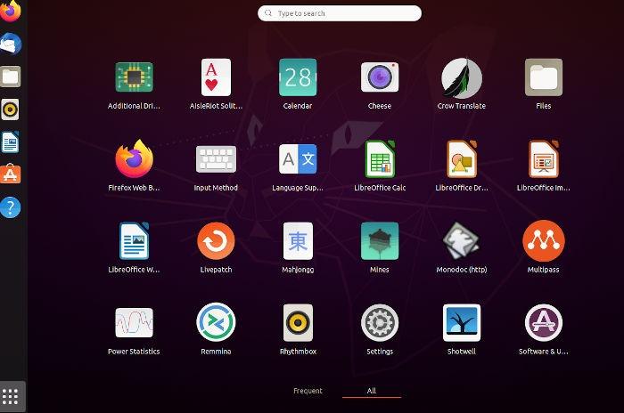 Umix Review Ubuntu Gnome Launcher