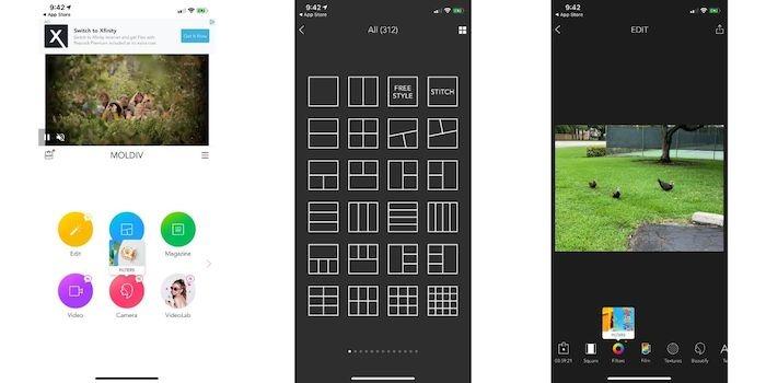 أفضل تطبيقات صور ملصقة Iphone Moldiv