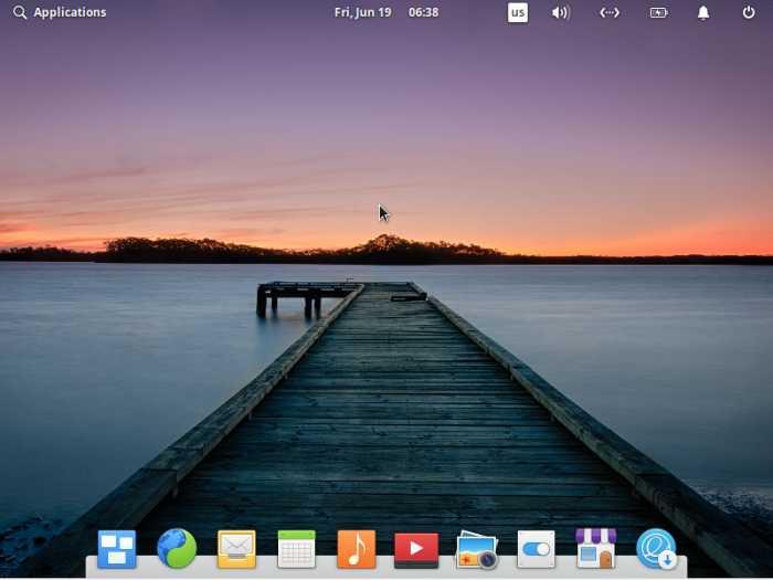 Elementary Desktop First Look