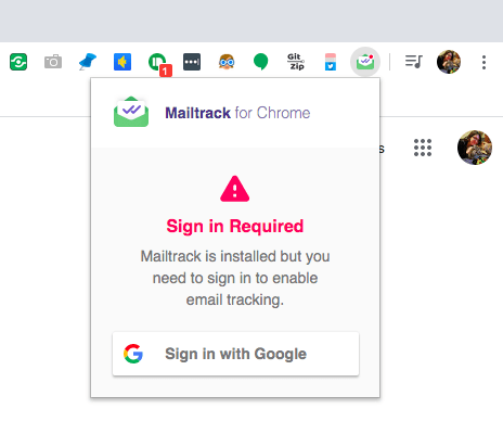 عند المطالبة ، أدخل عنوان Gmail وكلمة المرور.