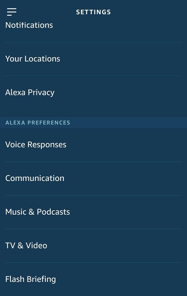 كيفية تخصيص إعدادات Amazon Alexa Flash Briefing