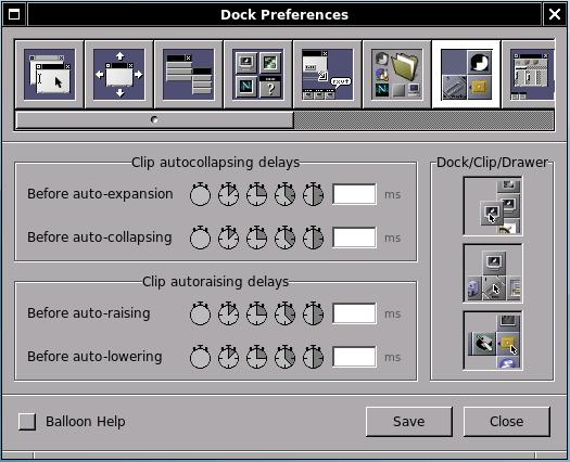 Window Maker Control Center