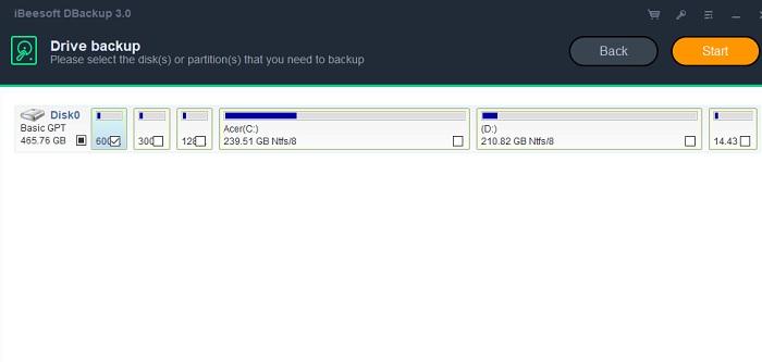 Ibeesoft Drive Backup 1