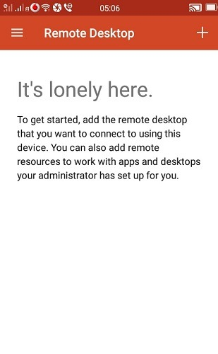 Microsoft Rd Android 1 जोड़ें