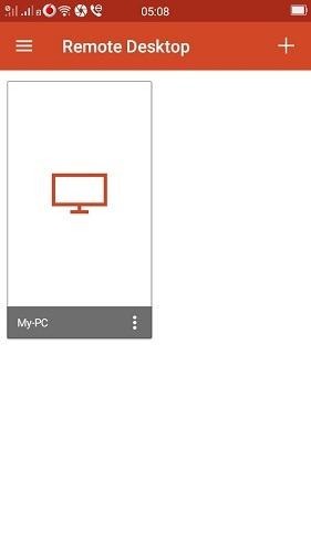 Microsoft Rd Android App जोड़ा गया