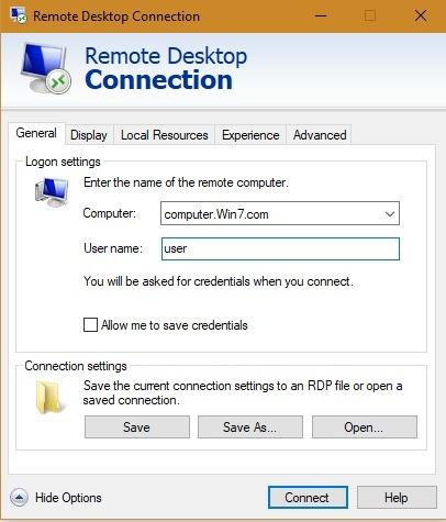 Microsoft Rd कंप्यूटर उपयोगकर्ता विवरण 1