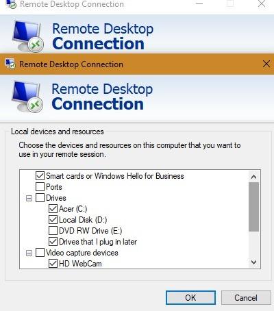 Microsoft Rd रिमोट डिवाइस 1
