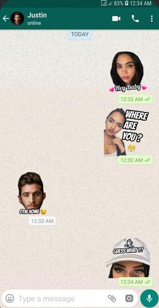 أفضل حزم ملصقات Whatsapp Wemoji